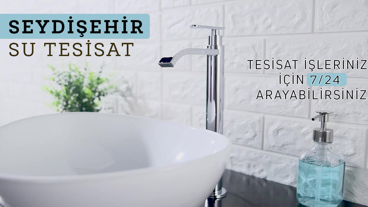 Seydişehir Su Tesisatçısı