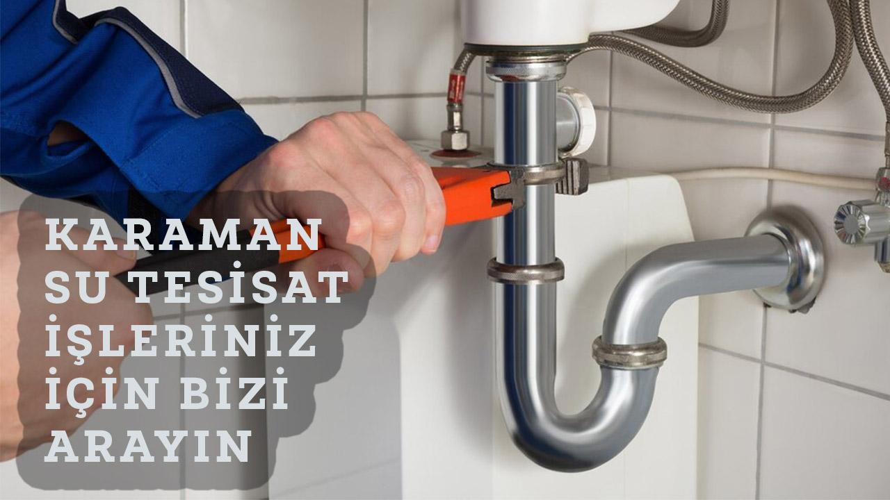 Su Tesisatçısı Karaman