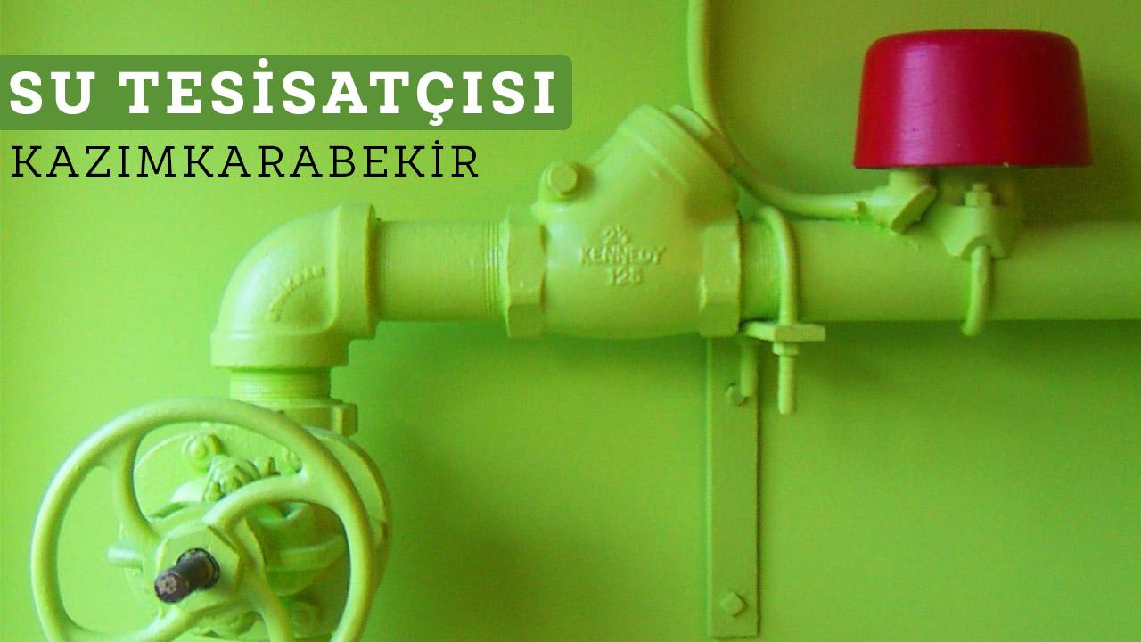 Su Tesisatçısı Kazımkarabekir